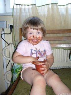 Алина и шоколадный пудинг